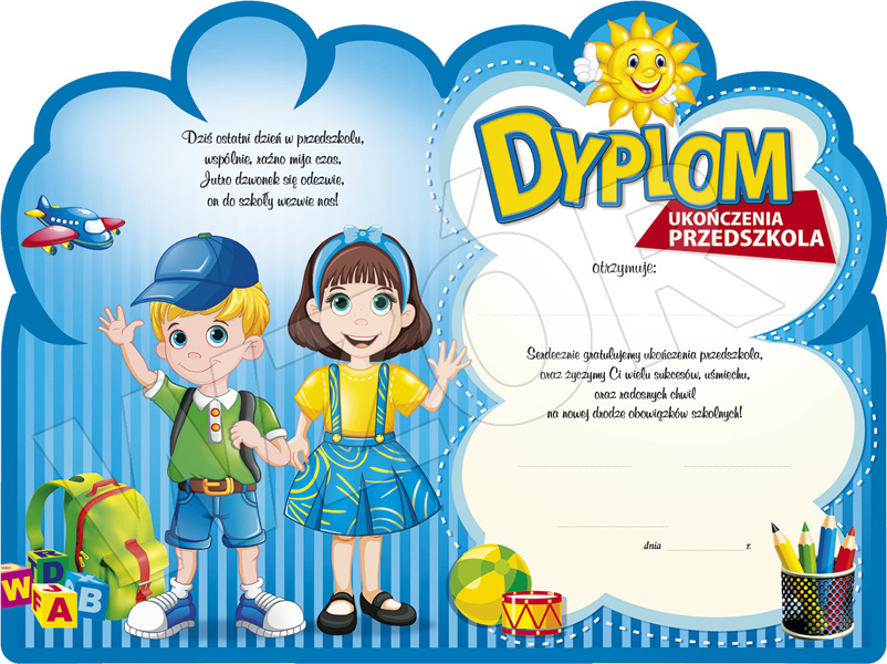 Rewers dyplomu DS-52