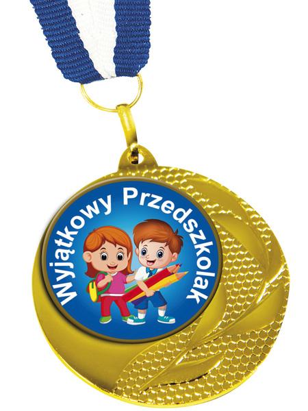 Medal Wyjątkowy Przedszkolak Med-12