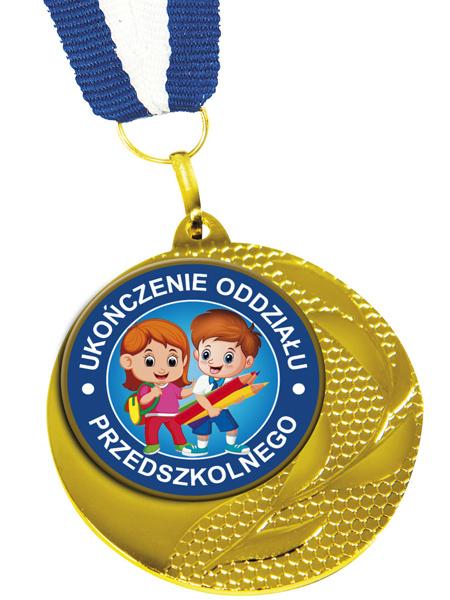 Medal ukończenia oddziału przedszkolnego MED-14