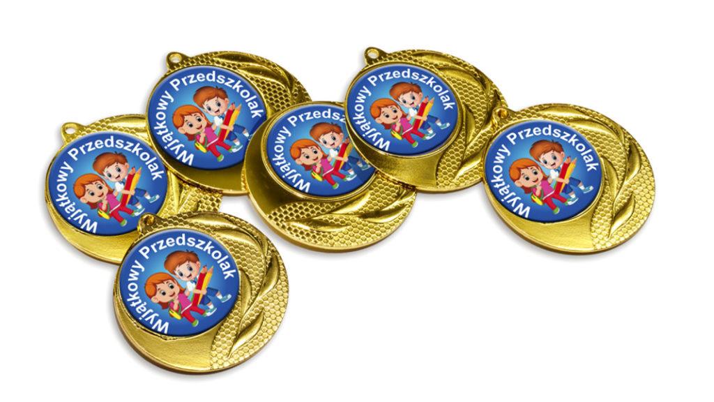 Medale Wyjątkowy Przedszkolak