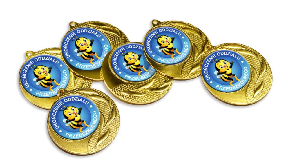 Medale ukończenia oddziału przedszkolnego MED-16