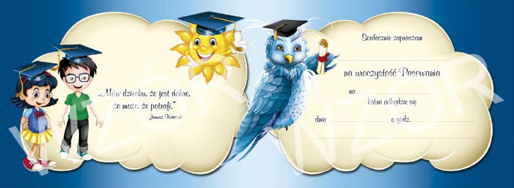 Rewers zaproszeń dla przedszkolaków