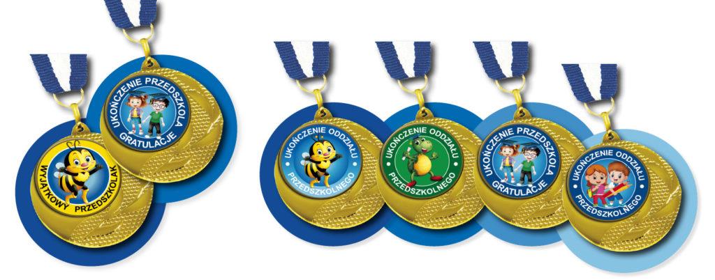 Medale dla dzieci na zakończenie roku szkolnego oraz pasowanie na ucznia